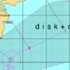 台風14号がやってくる