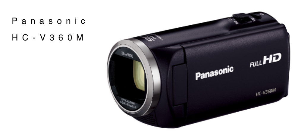 PanasonicのHC-V360