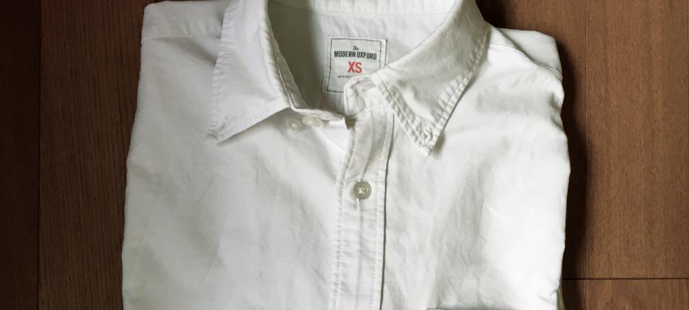 断捨離。白シャツ
