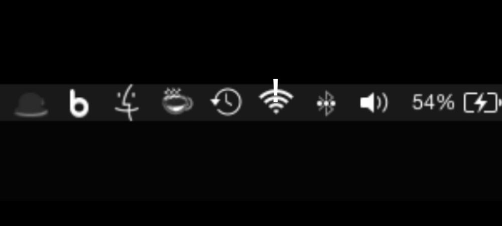 Wi-Fi接続が突然繋がらない。
