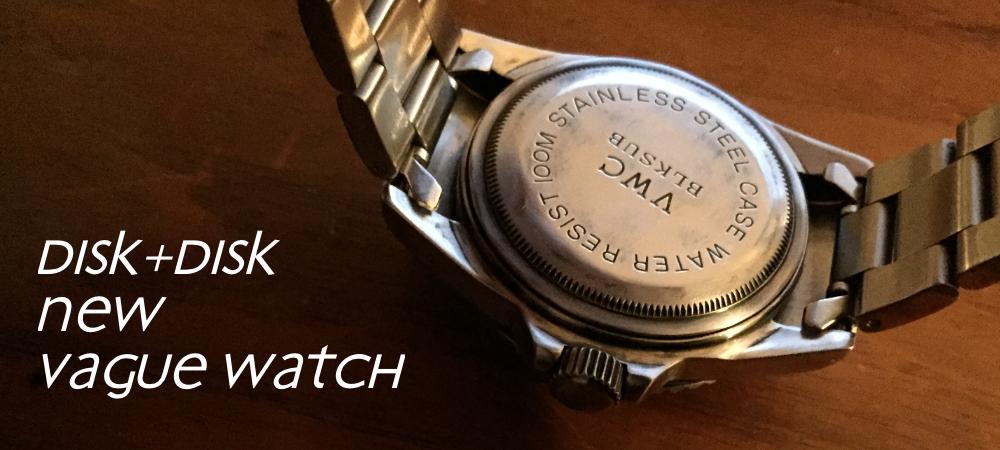 ベルト交換したvague watch2/disk
