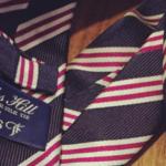 今週断捨離したモノ。BEAMSのネクタイと愛用のブーツ。